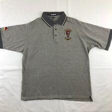 King Louie Mens Shirt  Robert Palmer Taz Firefighter MSCFF Missouri Golf Size XL