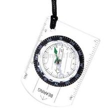 Mini Scouts Military Compass Scale Ruler Baseplate Compass for Camping Hiking US