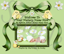 NEW  ~~EXCLUSIVE EASTER BUNNY BABY REBORN AUCTION TEMPLATE & FREE LOGO~~  DOUA