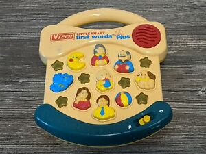 VTECH LITTLE SMART FIRST WORDS PLUS Talking/Musical Learning Toy Lights/Sounds