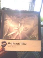 New Unopened Wilton Wedding Ring Bearer'S Pillow - Wilton Tie The Knot