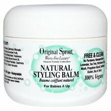Original Sprout Styling Balm 100% Organic Natural Hair Balm 2oz