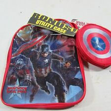 "Captain America 2 toddler  Backpack Winter Soldier Civil War Marvel 10"", New"