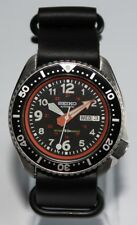 Premium SEIKO 6309-729A Vintage Dive Watch Military 24HRS Dial Automatic