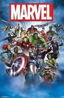 MARVEL COMICS - CHARACTER COLLAGE POSTER - 22x34 - AVENGERS 15503