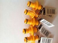 5 x HOZELOCK 2291 DOUBLE MALE HOSE PIPE CONNECTOR FITTING ATTACHMENT PACK