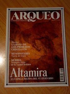 REVISTA ARQUEO, LA AVENTURA DE LA ARQUEOLOGIA Nº2 ALTAMIRA