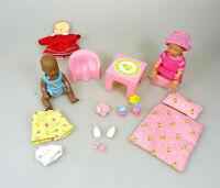 Baby Born Miniworld Spielset Puppe Kleidung Tisch Stuhl  Topf &  Zubehör