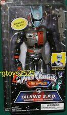 "Power Rangers SPD Shadow Ranger Talking 12"" Factory Sealed New 2004"