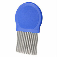 QUALITY METAL ROUND NITTY GRITTY NIT HAIR COMB REMOVE HEAD LICE EGGS NIT COMB
