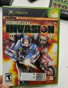 Robotech: Invasion (Microsoft Xbox, 2004) - European Version Brand New Sealed