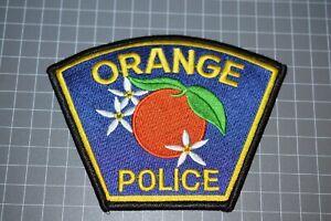 Orange California Police Patch (B17-A21)