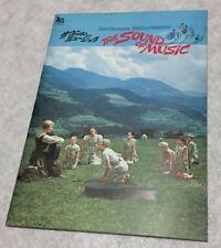 The_sound_of_music_Japanese_movie_program_Julie_Andrews_Christopher_Plummer_F/S
