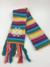 "Scarf with Snowflake - From The Gap Kids - Double thick 62"" + Fringe"