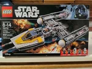 LEGO Star Wars Y-wing Starfighter (75172) New & Factory Sealed Free Shipping