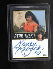 Star Trek TOS 50th Anniversary Nancy Novak autograph card