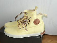 BLACKSTONE     SNEAKER  TURNSCHUHE  HIGH TOP GR. 38   SOFT YELLOW  FL 86   NEU