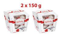 2 x Ferrero RAFFAELLO Crispy & Creamy Almond Coconut Pralines 150g 5.3oz
