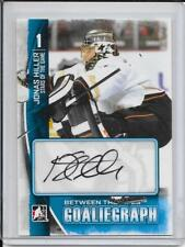 13-14 Between The Pipes Jonas Hiller Autograph