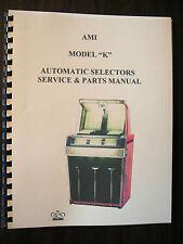 AMI Models K Jukebox Service & Parts Manual