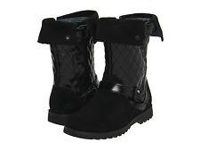 NIB UGG Australia Kids Corri Boots Boot Size 1 Youth Black patent leather $150