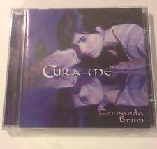 Cura-me By Fernanda Brum Music CD. CD artwork Is Autographed By Her. MK MUSIC