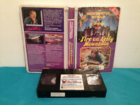 World of disney fire on kelly mountain double feature VHS tape & clamshell