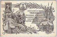 CARTOLINA d'Epoca - BERGAMO provincia - Treviglio 1917 - BELLISSIMA!