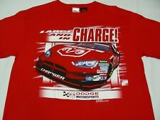 DODGE CHARGER - LARGE AND IN CHARGE! - DODGE MOTORSPORTS LARGE SIZE T SHIRT!