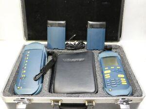 WAVETEK LT8600 Cat 6 Cable Certifier 300MGHZ in Hard Case