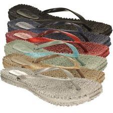 Sandalias y chanclas de mujer multicolor sintético