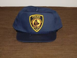 POLICE BASEBALL CAP HAT TOWN OF POUGHKEEPSIE NY POLICE K-9 UNIT  NEW UNUSED