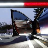2*Car Door Warning Lamp Flowing Flashing LED Lights Strip Waterproof Accessories