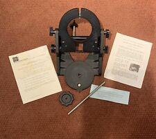 Meade telescope cassegrain 2080 2120 LX50 LX200 equatorial wedge complete 1984