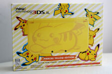 NEW Nintendo 3DS XL Limited Edition Pikachu Yellow USA Edition Pokemon 3DS NIB