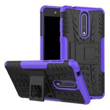 Carcasa híbrida 2 piezas Exterior Púrpura Funda para Nokia 8