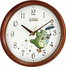 Studio Ghibli Totoro Rhythm Watch Wall Clock 8MGA27RH06 With Tracking Japan