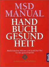 MSD Manual. Handbuch Gesundheit. Medizinisches Wissen un... | Buch | Zustand gut
