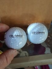 The Meadows Country Club Member-Guest Logo Titleist 1 Lot of 3 Golf Balls Nxt