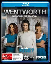 Wentworth : Season 4 (Blu-ray, 2016, 3-Disc Set)