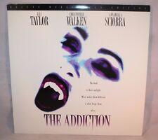 Laserdisc {J} * The Addiction * Lili Taylor Christopher Walken Annabella Sciorra