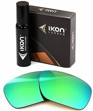 Polarized IKON Iridium Replacement Lenses For Oakley Jawbone Emerald Mirror