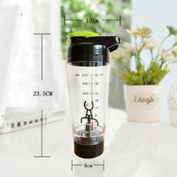 600ml Mixer Bottle Protein Shaker Blender Cup Quality Electric Tornado Nutrition