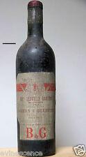 vin chateau LEOVILLE BARTON 1942 Bordeaux Saint Julien bouteille 75cl wine wein