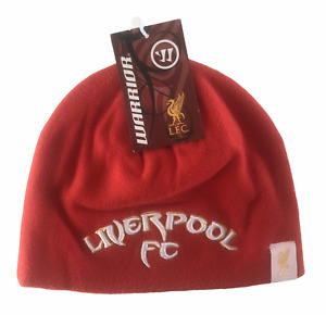 Liverpool FC Football Hat Adult's Warrior Kop Beanie Hat - Red - New