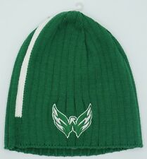 NHL Washington Capitals Reebok Adult Cuffless Winter Knit Hat Cap Beanie NEW!
