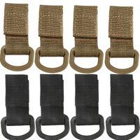 4X Tactical Molle D Ring Buckle Webbing Belt Hook Multifunction Carabiner Holder