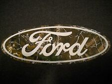 Ford / Realtree Camo T-Shirt Medium - F-100,F-150,F-250,Ranger, Explorer, NEW