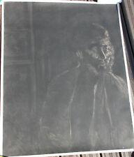 Rare gravure aquatinte pointe-sèche de George SEGAL etching aquatint hansigned *