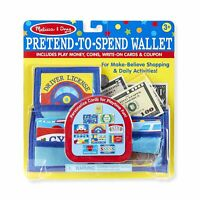 Melissa And Doug Pretend To Spend Wallet Play Set NEW IN STOCK